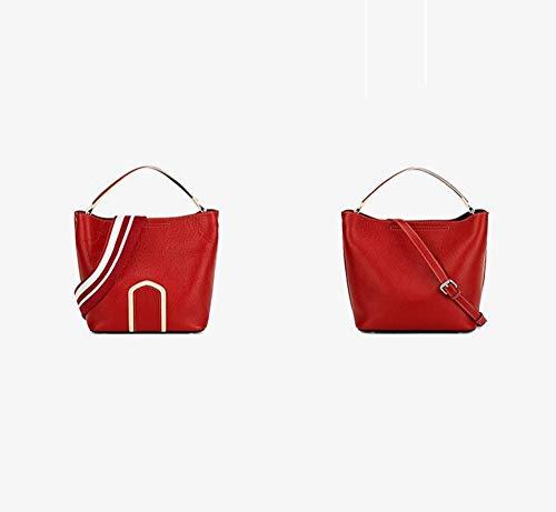 à tempérament Sxuefang Main Cuir D Emballage sous spécial Forfait Grand en Mode Sac Grande Simple Sac Taille BxPqBY
