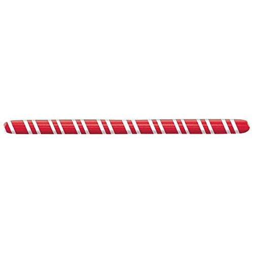 Amscan Festive Christmas Inflatable Limbo Stick Party Activity, Red/White, 70
