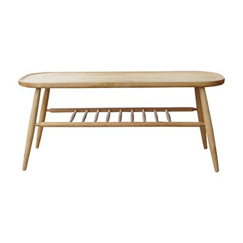 ノルン アルダー無垢材 ベンチ テーブル NORN BENCH TABLE B078V5D4B5