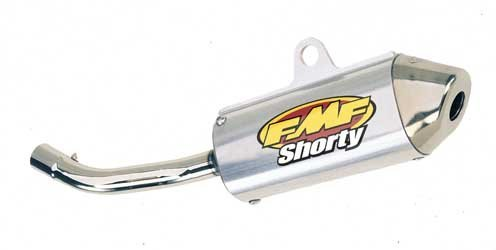 FMF SIL PCII SHORTY CR125, FMF Part Number: 79-2629S-WPS, Stock photo - actual parts may vary. Cr125 Stock