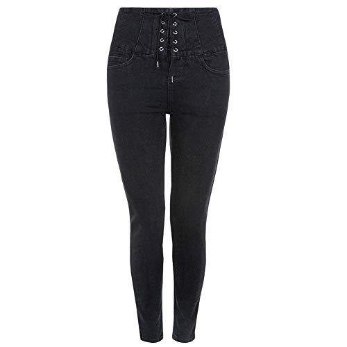 Femme Ex Newlook Jeans Noir Noir YSYwrEq