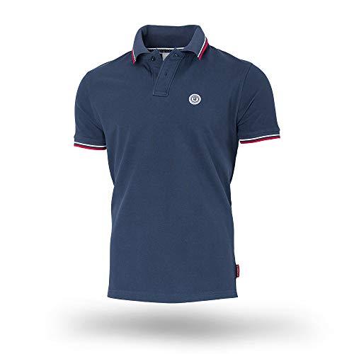 Thor Steinar Men's Polo Shirt Forset German Style (Navy, 4XL)