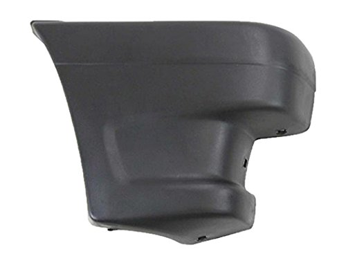 - OE Replacement Mazda Pickup Front Passenger Side Bumper Extension Outer (Partslink Number MA1005112)