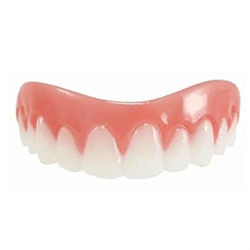 KingFurt Cosmetic Teeth 1 Pack Secure Smile-Comfortable Upper Veneer For A Perfect Smile!
