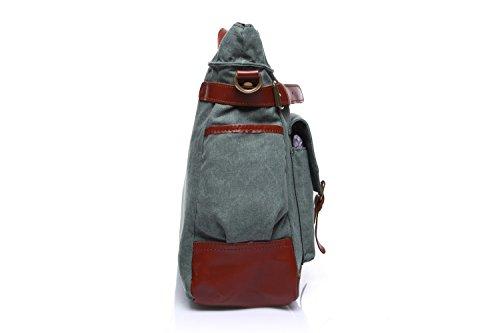 de de de del bolso Bolso de hombres la la mensajero la Bags la Blue de ocio multifuncional Bolso portátil viaje del Bolso lona bolsa computadora los de de cartera wq7AX
