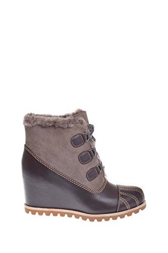 UGG Womens alasdair Rain Boot Slate Size 8 (Womens Sheepskin Suede Wedge)