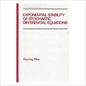Exponential Stability of Stochastic Differential Equations