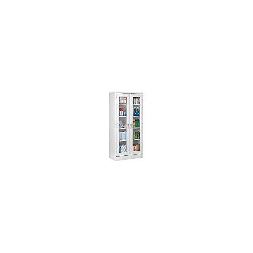 - Atlantic Metal Visual Storage Cabinet - 36X18x72