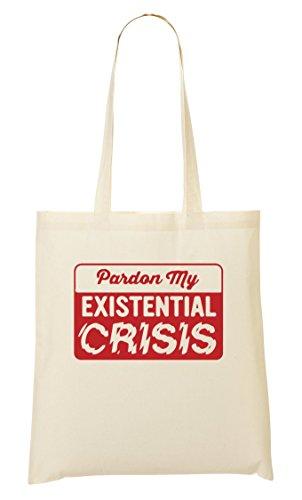 CP Pardon My Existential Crisis Bolso De Mano Bolsa De La Compra