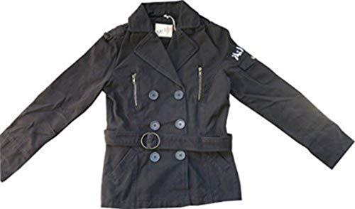 Ajc Pur En Caban Noir Coton De 5OUZxpf