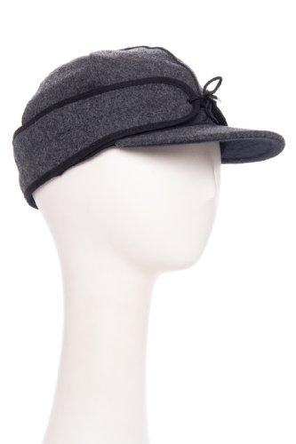 The Original Stormy Kromer Wool Cap Charcoal 7 1/4