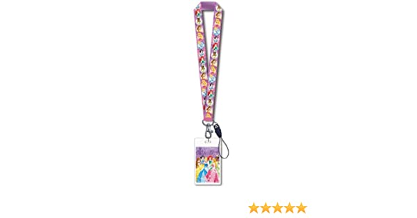 Disney Princess Lanyard with Card Holder by Disney: Amazon ...