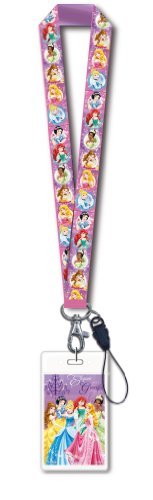 (Disney Princess Lanyard with Card Holder)