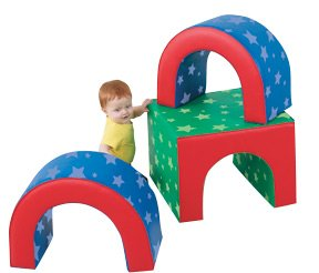 Children's Factory Tunnel Trilogy Climber