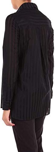 PIERANTONIO GASPARI Fashion Woman 1P6623HZ291 Black Cotton Shirt | Season Outlet