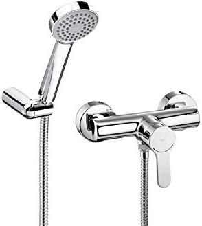 Roca L20 - Monomando exterior para ducha con ducha de mano ...
