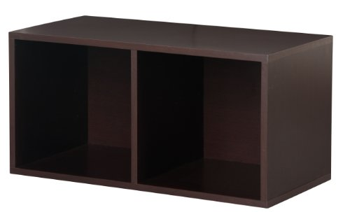 Foremost 327809 Modular Large Divided Cube Storage System, Espresso