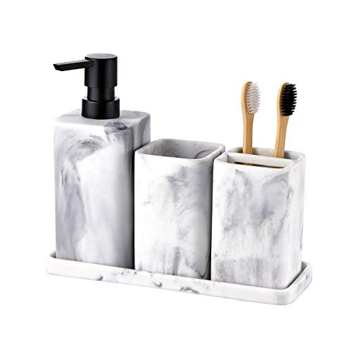 Santorini Sunset Toothbrush and Soap Holder Kitchen Office Bathroom