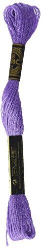 DMC 117-209 Six Strand Embroidery Cotton Floss, Dark Lavender, 8.7-Yard