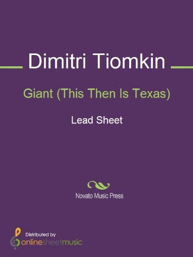 Giant (This Then Is Texas)