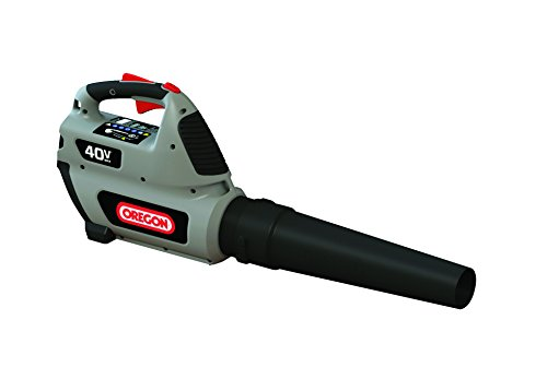 Oregon Cordless 40V Max BL300 Blower Kit with 4.0 Ah Battery Pack and Standard Charger by Oregon