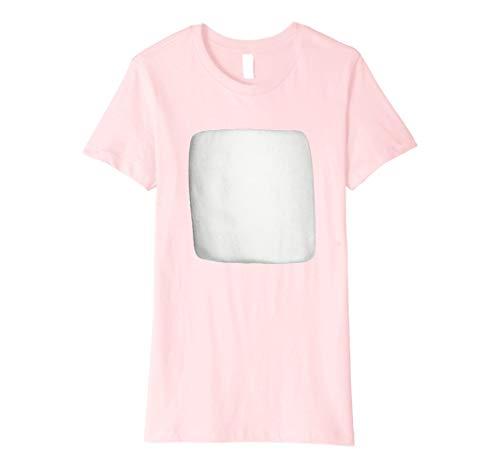 Womens Smores Marshmallow Halloween Costume Shirt Small