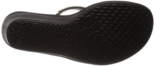 Skechers Cali Women's Rumbers-Wild Child Wedge Sandal,Bronze Rhinestone,9 M US by Skechers (Image #3)