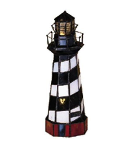 Meyda Tiffany 20539 Cape Hatteras Lighthouse Accent Lamp, 10