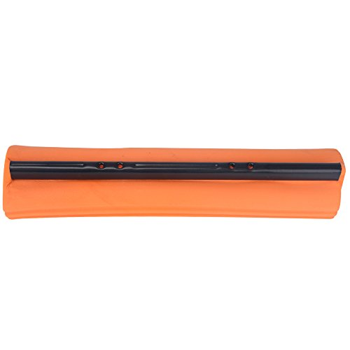 Super Absorbent PVA Double Roller Sponge Mop Head Refill-11inches (11inch, orange)