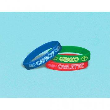 PJ Masks Rubber Bracelet [Contains 2 Manufacturer Retail Unit(s) Per Amazon Combined Package Sales Unit] - SKU# 398379 ()