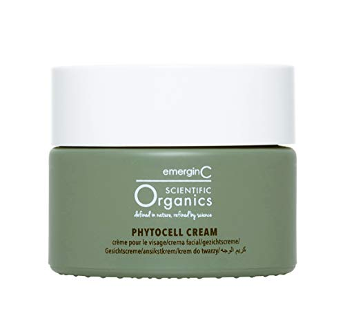 emerginC Scientific Organics - Phytocell Anti Aging Cream with Plant Stem Cells to Help Brighten + Protect (1.7oz / 50ml)