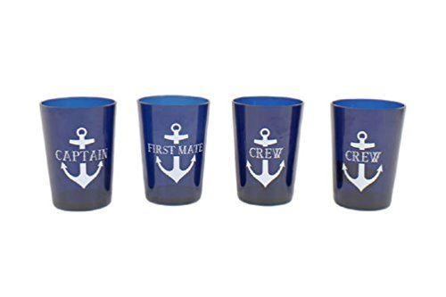 DEI Captain/First Mate/Crew Drinkware Set