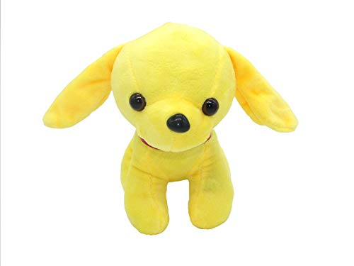 Qdd Colorful Glowing Dog And Luminous Led Night Lights Plush Toy