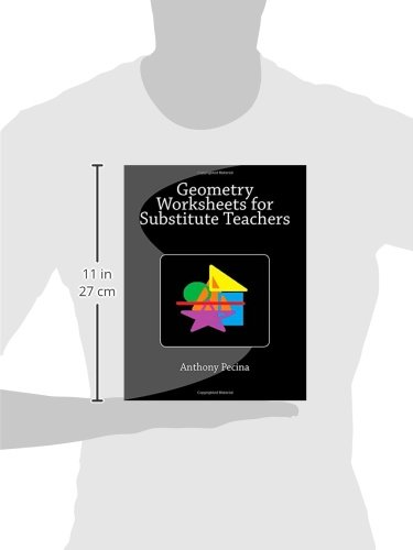 Geometry Worksheets for Substitute Teachers: Anthony Pecina ...