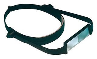 Headband Magnifier, 2.5x/4x/5x/7x Magnification, Hands-Free, Adjustable by EDSYN