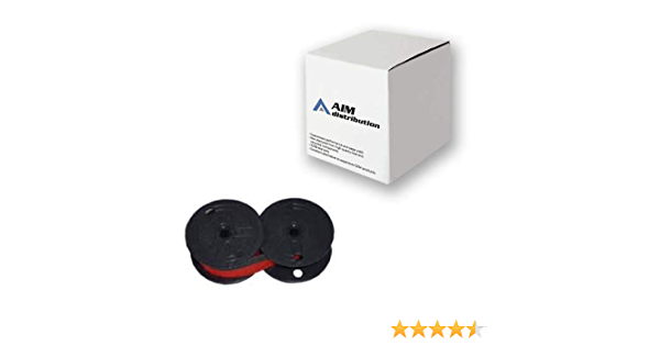 Around The Office Compatible Package of 3 Individually Sealed Ribbons Replacement for Sharp QS-4164 Calculator