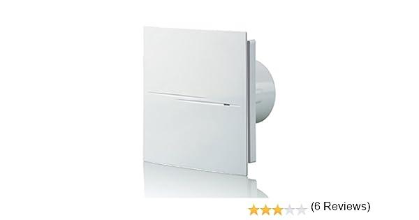 Blauberg UK - Ventilador, extractor de baño, silencioso, con estilo, 100 Quiet Style V: Amazon.es: Bricolaje y herramientas