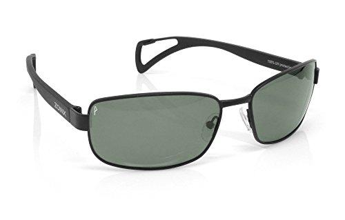 Zoinx Men Wrap Polarized Sunglasses Black Frame-Green - Overstock Sunglasses Com