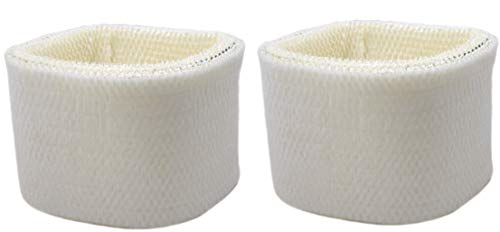 Air Filter Factory 2-Pack Compatible Replacement for Honeywell HC14, HC-14 Humidifier Wick Filters