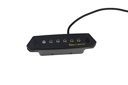 Skysonic Passive Acoustic Guitar Sound hole Pickup Humbucker (Humbucker Soundhole Pickup)