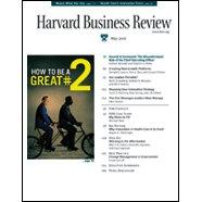 Harvard Business Review, May 2006