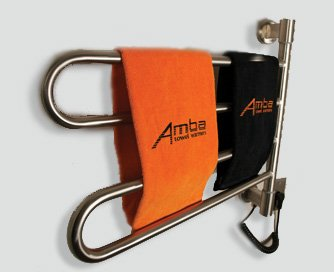 Modern Towel Warmer (Brushed Finish) by Amba
