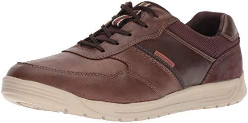 Rockport Men's Randle U bal Leather Shoe, brown, 10.5 W US