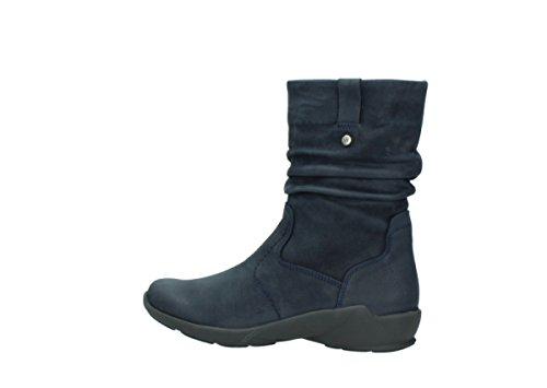 Boots 01572 11802 Oiled Blue Wolky Nubuck Womens Luna BvwqnRZ