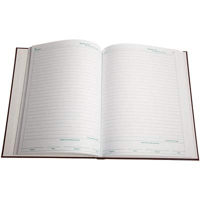 Nalgene Laboratory Notebook, Lined Pages