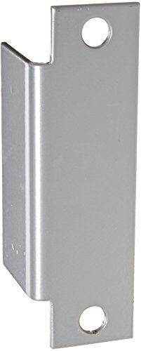 Don-Jo AF 260 13 Gauge Steel Electric Strike Filler Plate, Silver Coated, 1-1/4'' Width x 4-7/8'' Height (Pack of 10) by Don-Jo