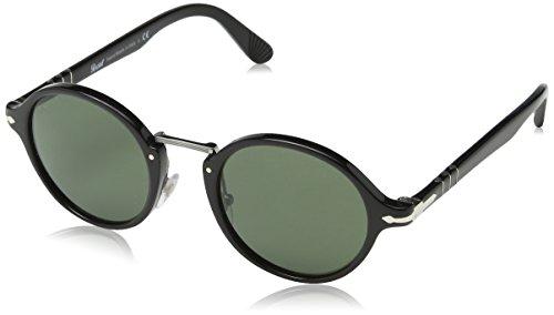 Green Gafas Persol Negro Unisex Black de Adulto Sol pwq0O