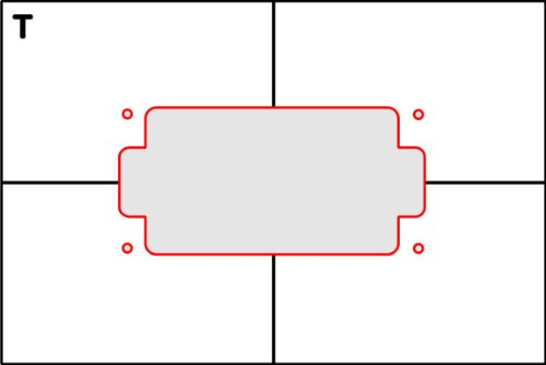 Pickup Routing Template Humbucker Top Route Amazon