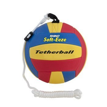 Champion Sports Rhino Soft-Eeze Tetherball (Multi, 9-Inch)