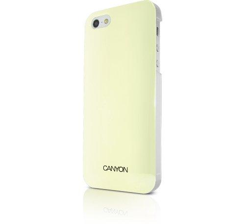 Canyon IML Coque avec stylet et film protecteur d'écran pour iPhone 5–Blanc Ivoire